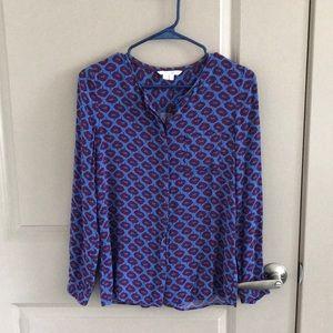 Biden Purple Floral Shirt (UK6/US2)
